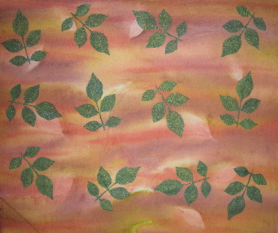rpse and earth tone quilt fabric