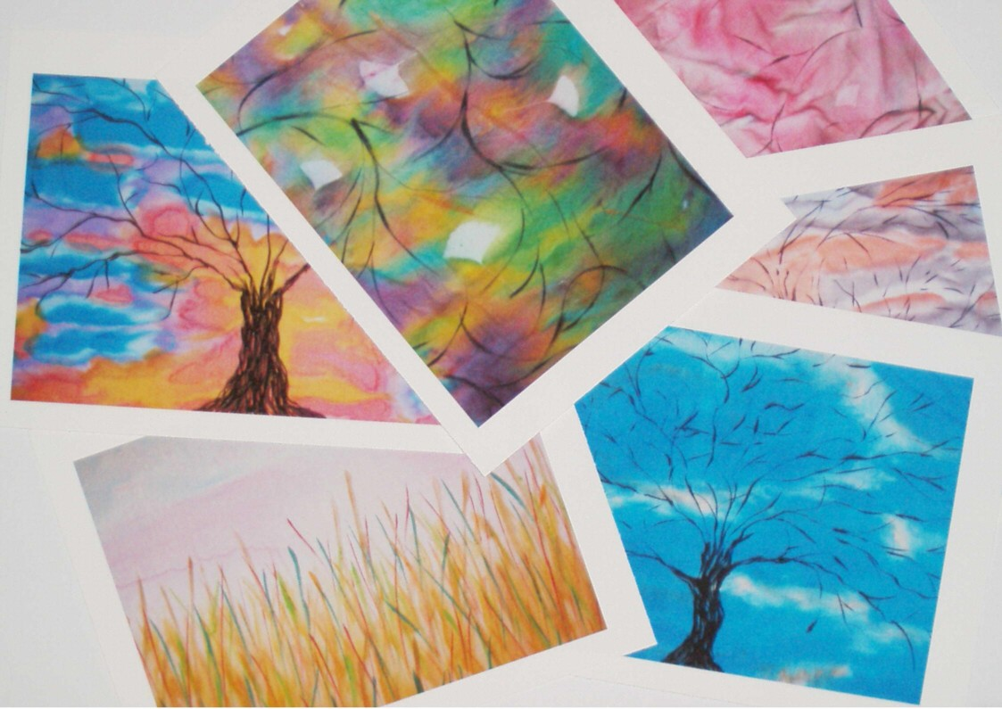 art printed gift cards