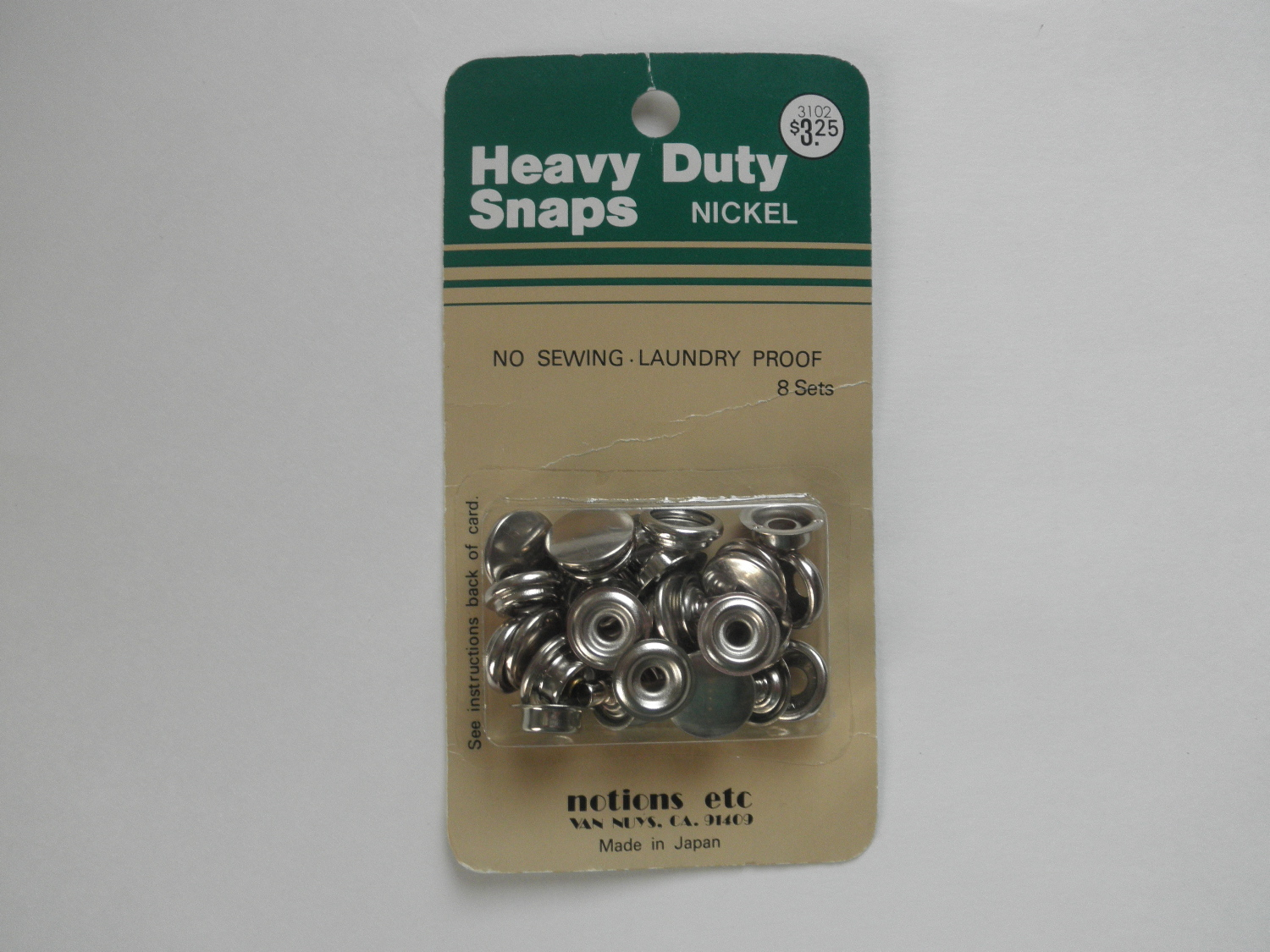 heavy duty snaps