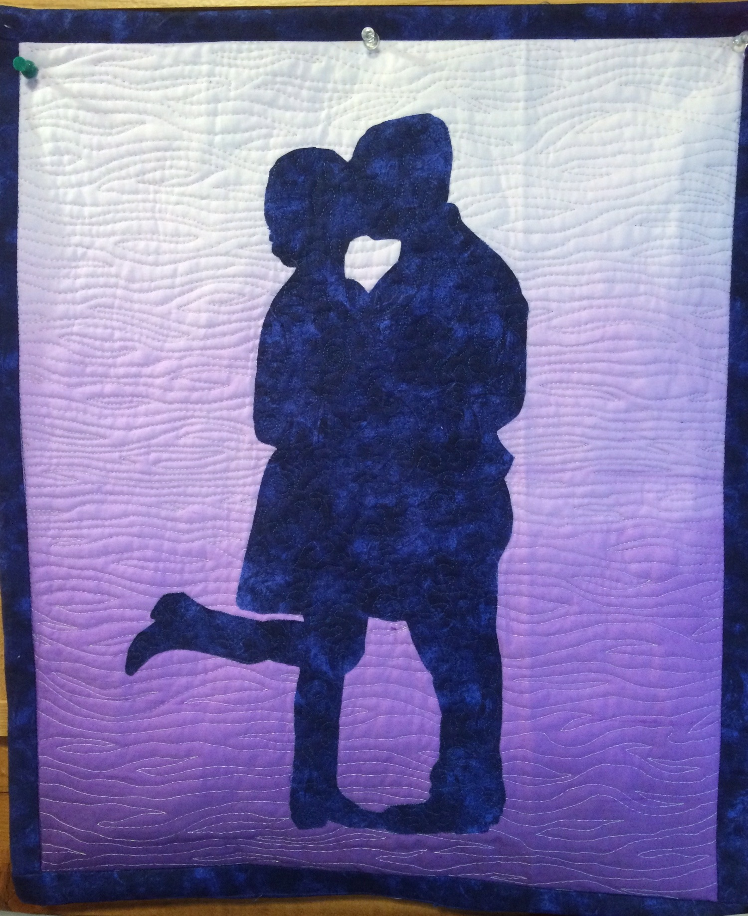 Silhouette quilts