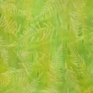 green fern quilt fabric
