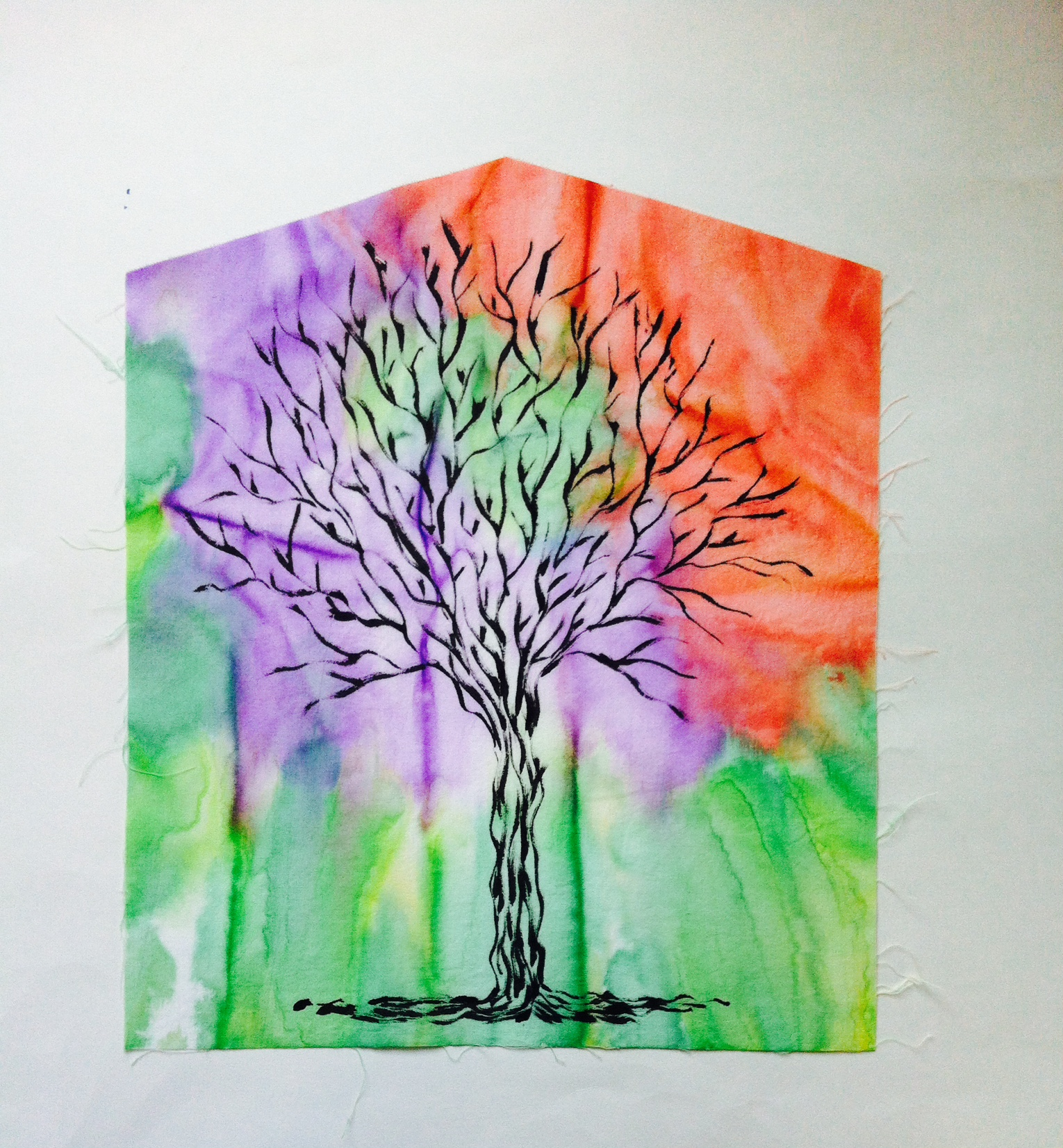 cathedral tree of life quilt fabric