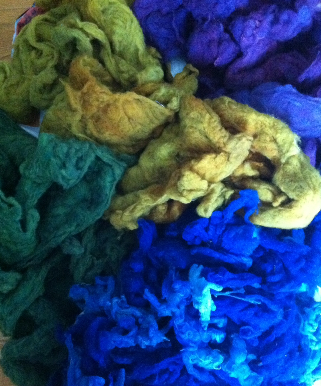 merino dorset hand dyed fleece